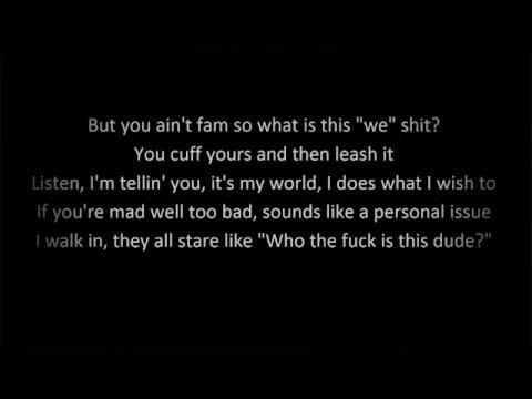 I Mean It - G Eazy (Lyrics)