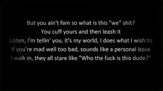 I Mean It   G Eazy (Lyrics)
