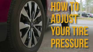 Tire Pressure Quick Tips