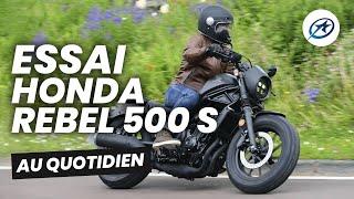 Essai Honda CMX 500 Rebel S (2020)