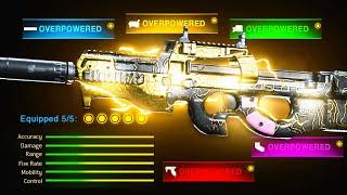 *NEW* BEST GUN in Modern Warfare! NO RECOIL P90 SETUP is OVERPOWERED!! Best P90 Class Setup (CoD MW)