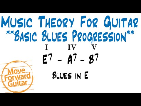 Music Theory for Guitar - Basic Blues Chord Progressions