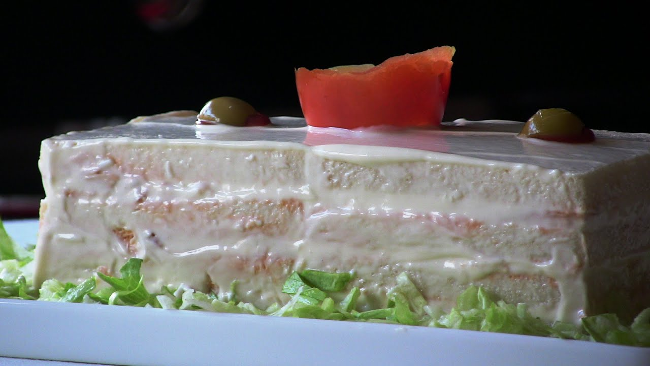 Pastel frío de atún con tomate | Javier Romero