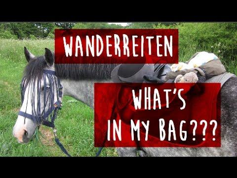 [AUSRÜSTUNG] für's WANDERREITEN I What's In My Bag?