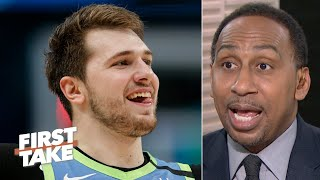 Luka Doncic is more important than Kawhi to his team - Stephen A. | First Take