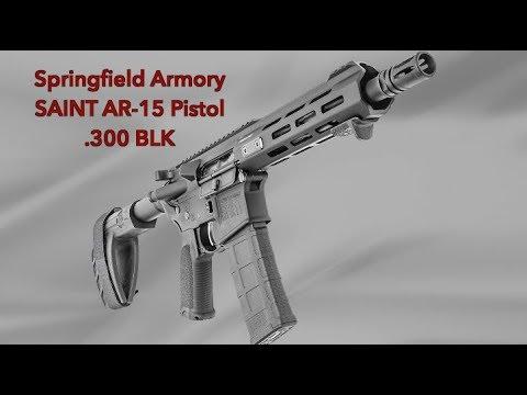 Saint AR-15 Pistol In .300 BLK
