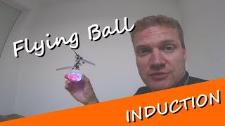 Flying Ball induction - ein fliegender Ball der mit einem Infrarotgestencontroller funktioniert