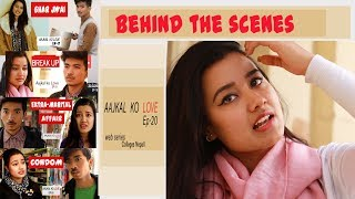 Behind The Scenes | AajKal KO Love | Episode 20 | Colleges Nepal