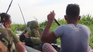 Combat Operation in Liguasan Marsh