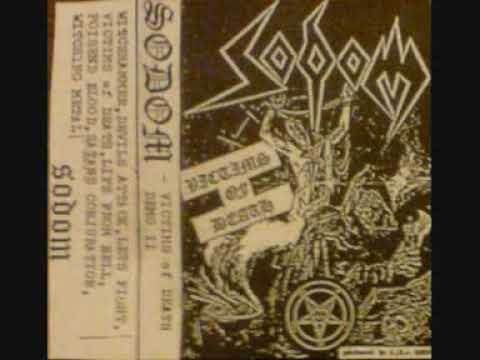 Sodom - Let's Fight In The Darkness Of Hell (Demo) online metal music video by SODOM