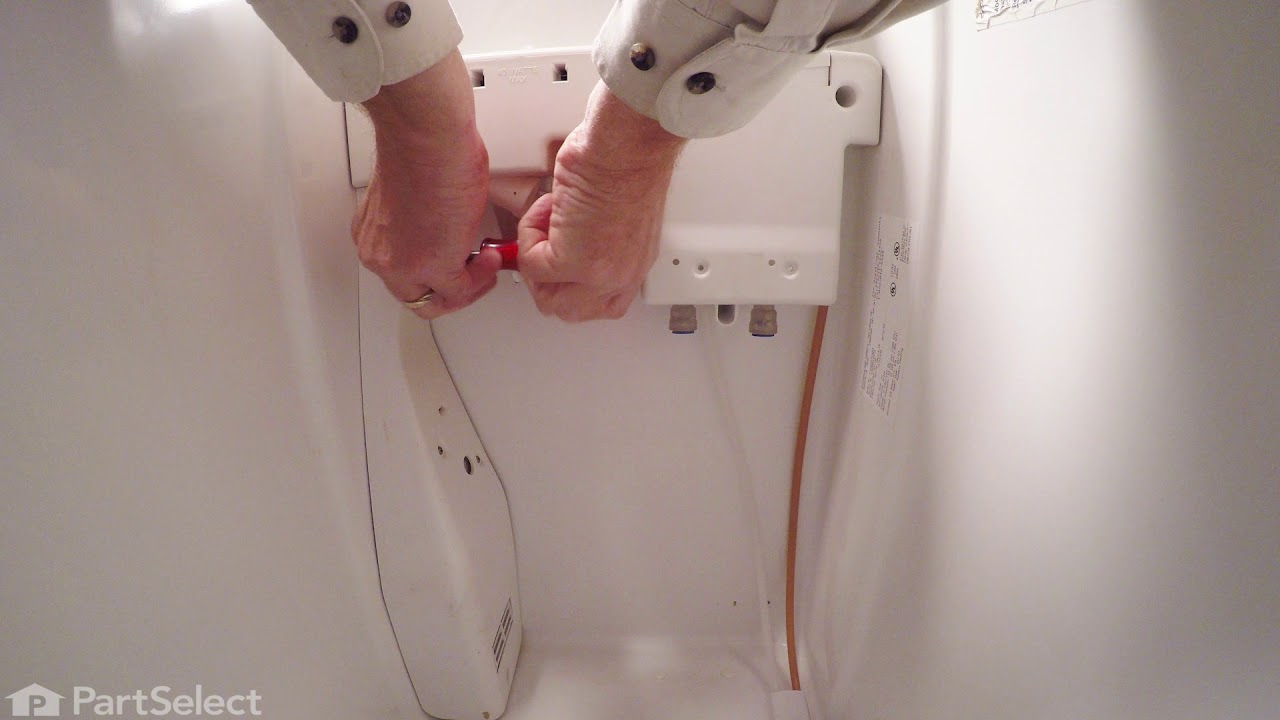 Replacing your Frigidaire Refrigerator Water Filter Base