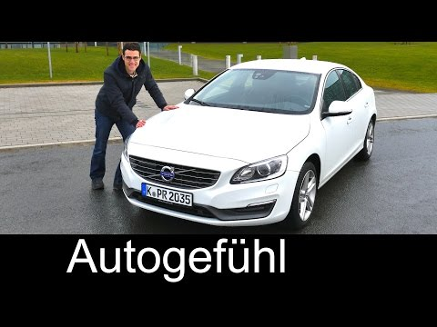 2016/2015 Volvo S60 sedan Limousine test driven FULL REVIEW - Autogefühl