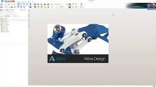 Alibre CAD with integrated SprutCAM