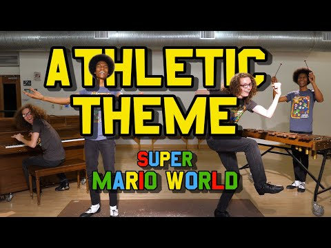 """Athletic Theme"" (w/ Piano, Xylophone, & Tap Dance) from Super Mario World!"