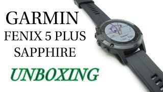 Garmin Fenix 5x Plus Unboxing म फ त ऑनल इन व ड य