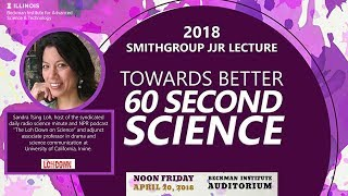 "Thumbnail of ""Towards Better 60 Second Science"" - Sandra Tsing Loh (SmithGroup Lecture) (new) video"