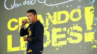 """""""A palavra mais importante do dicionário é ESPERANÇA!"""" - Evandro Guedes - 06 de Abril em Salvador"""