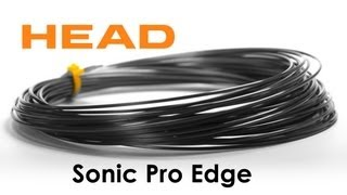 Head Sonic Pro Edge String 200m video