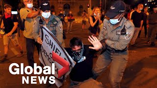 Police In Israel Arrest At Least 12 During Anti-Netanyahu Protests