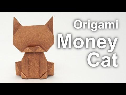 Origami Money Cat v2 (Jo Nakashima)