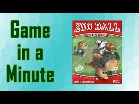 Game in a Minute Ep 64: Zoo Ball: The King of Sports