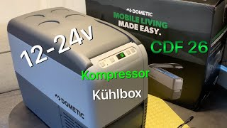 Dometic CoolFreeze CDF 26 Kompressor Kühlbox