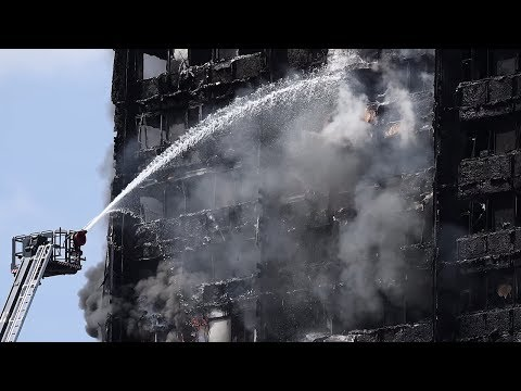 Police: Fridge started Grenfell Tower fire