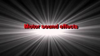 Motorbike Sound Effect On Track
