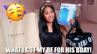 WHAT I GOT MY BOYFRIEND FOR HIS BIRTHDAY! | Selena Lim