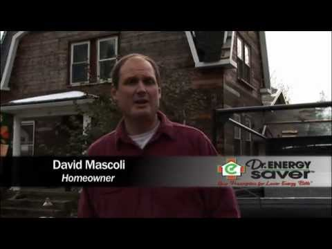 Dr. Energy Saver helped this homeowner transform a 100-year-old house into an energy efficient,