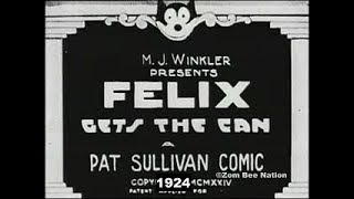 Felix The Cat Gets The Can - 1924 - Video Youtube