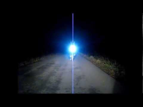 Sehen und gesehen werden mit dem Fahrrad im Dunkeln