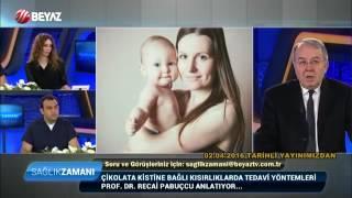 Kadın Hastalıkları ve Doğum Uzmanı Prof  Dr  Recai Pabuçcu   Beyaz Tv Sağlık Zamanı (04 06 2016)