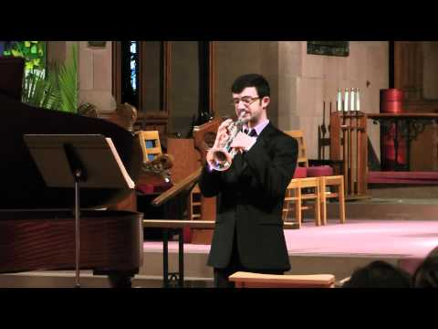 First movement of the Hindemith Sonata, from my second Master's recital in 2012