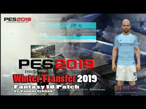 PES 2019 PS3 Fantasy Patch Winter Transfer 2019 V29 AIO - смотреть