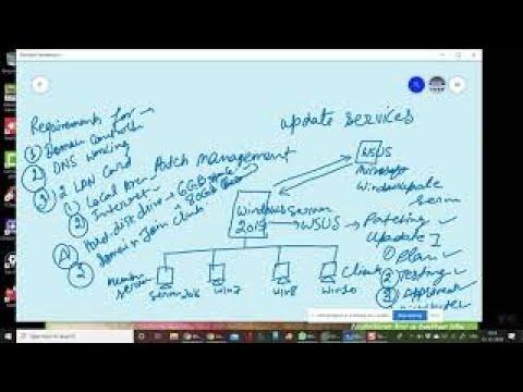MCSA Online Training Series Part-21 (WSUS Server 2019) - YouTube