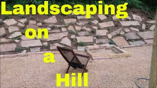 Landscaping On A Hill - Backyard Slope Project