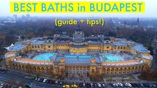 Best Baths in Budapest, Hungary