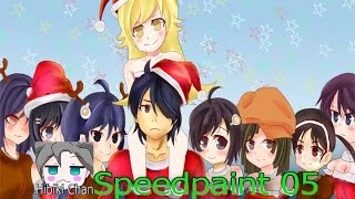 Speed Paint Nisemonogatari