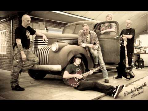 "Rusty Knuckle Bluesband   ""Don't shake my hand""."