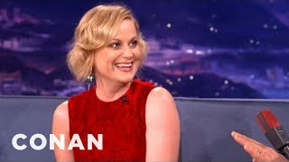 Amy Poehler Interview Pt. 1 12/04/12 - CONAN On TBS
