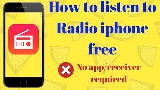Free Radio On Iphone 6 Iphone 4s Iphone 5s - Iphone Tricks