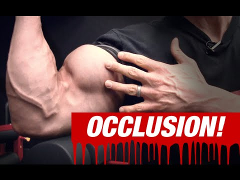 Dumbbell Occlusion Curl