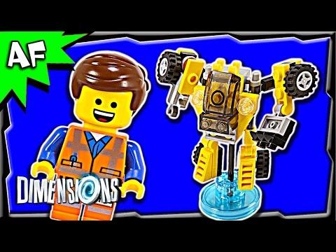 Vidéo LEGO Dimensions 71212 : Pack Héros : Emmet