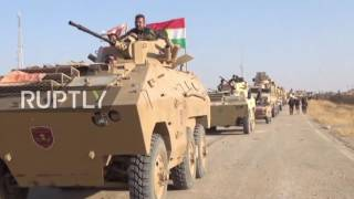 Iraq: Peshmerga forces shoot down IS drone during Mosul advance