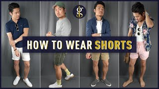 HOW TO WEAR SHORTS For Asian Men   5 Casual Summer Outfit Ideas (Style & Fashion Inspiration)