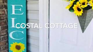 COASTAL COTTAGE HOME TOUR