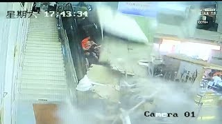 Nine injured after ceiling decoration collapsed in China