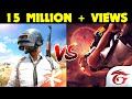 Pubg vs Free Fire! | Pubg Mobile Gamers Vs Free Fire Gamers! | Stickman Animation!