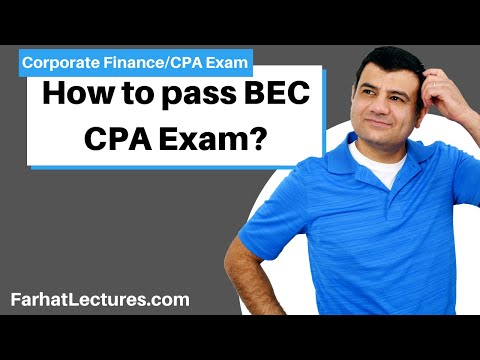 How to pass BEC CPA Exam | Capital Asset Pricing Model | CAPM ...